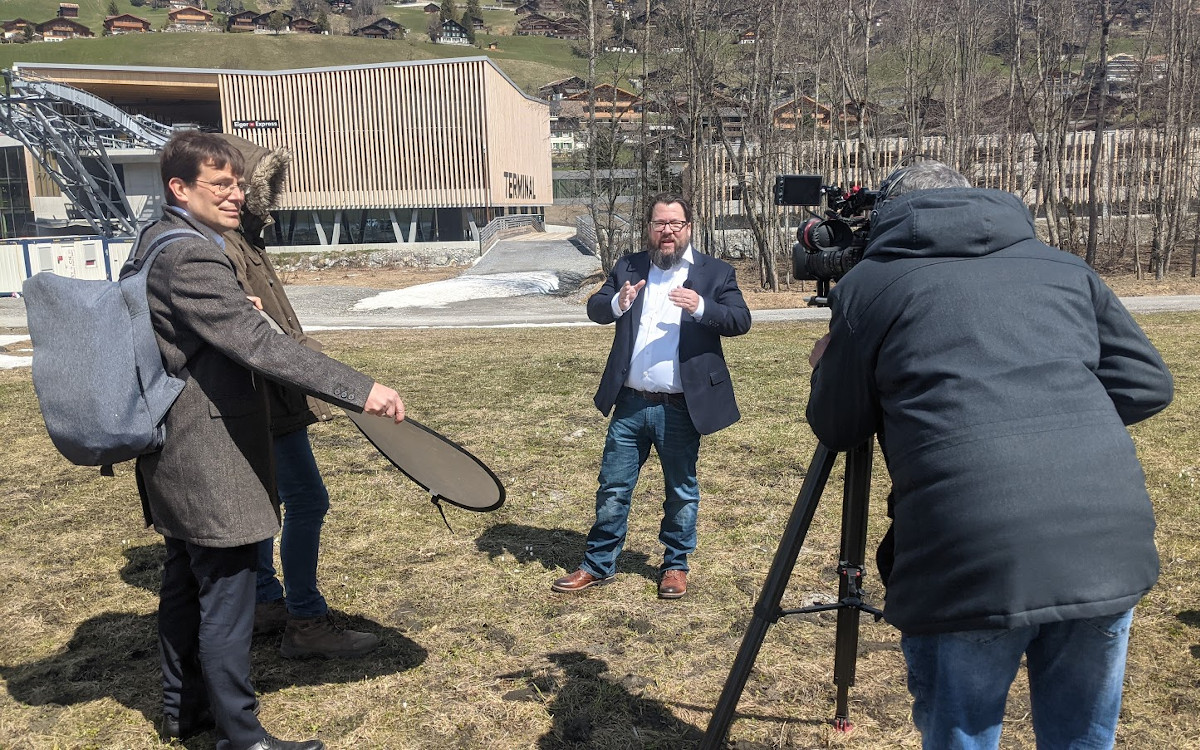 invidisXworld Interview mit Michael Grob von One Inside in Grindelwald (Foto: invidis)