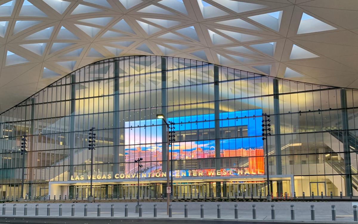 Neue Samsung LED im Messegelände Las Vegas (Foto: Samsung)