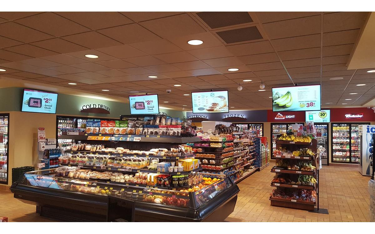 Philips Display bei Kwik Trip in La Crosse (Foto: PPDS)