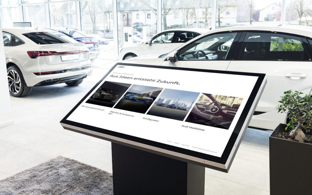 Audi Trudering mit neuem Audi Retail Konzept (Foto: Audi)