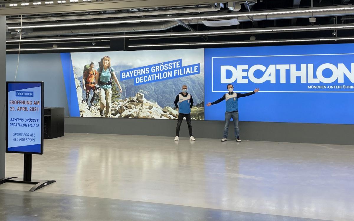 Decathlon Neueröffnung in München-Unterföhring (Foto: Decathlon)