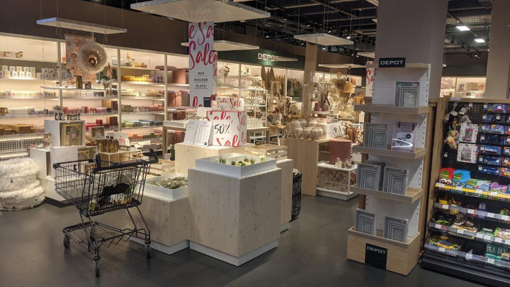 Depot Shop-in-Shop bei bei EDEKA Stadler+Honner (Foto: invidis)