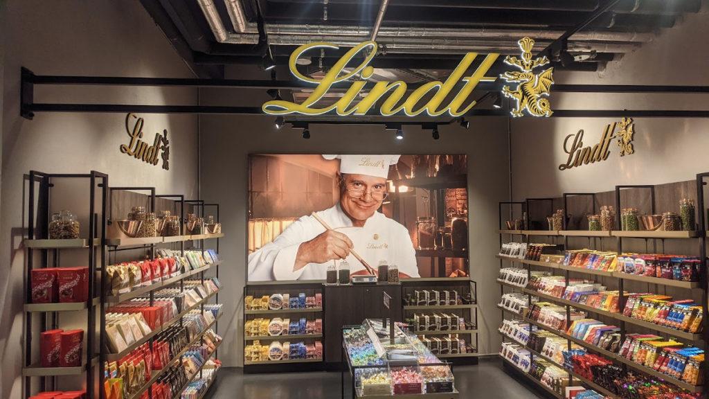 Lindt Shop-in-Shop bei bei EDEKA Stadler+Honner (Foto: invidis)