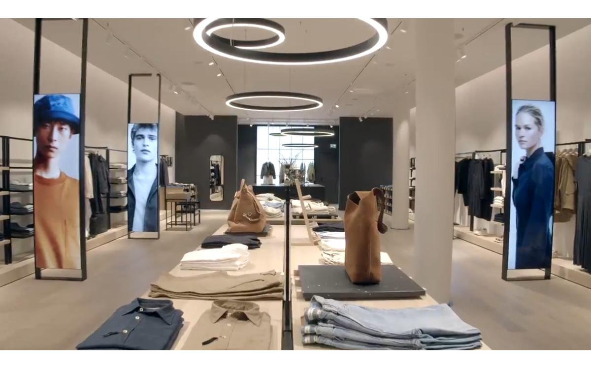 Neues Marc O'Polo Store Konzept mit Digital Signage (Foto: Screenshot)