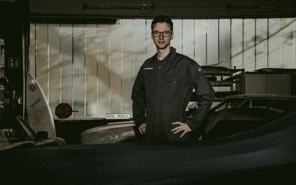 Claus Weibrecht (Grafik: Müllers Garage)
