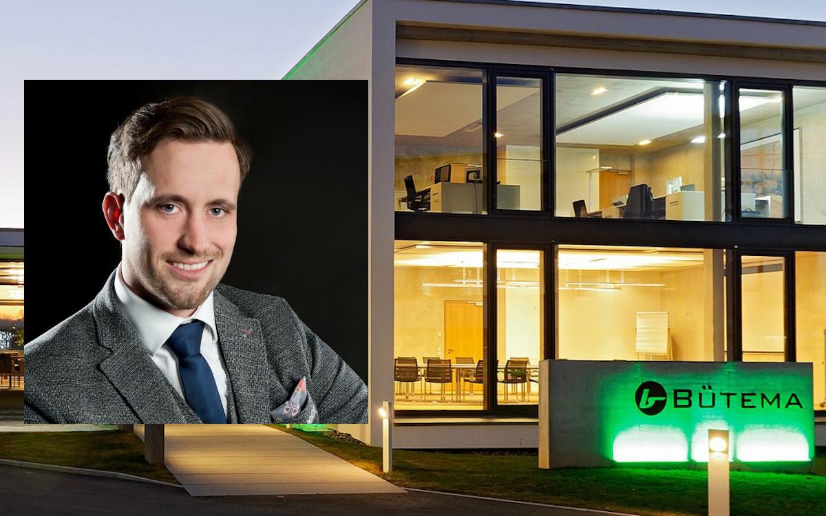 Lutz Hollmann Raabe rückt bei Bütema in den Vorstand auf (Foto: Bütema)