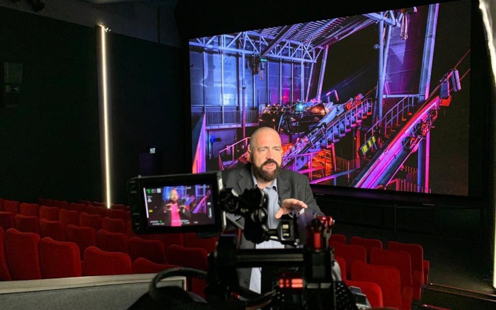 Einblicke in das Kino-Geschäft mit Andi Bohli im Arena Cinema (Foto: invidis)