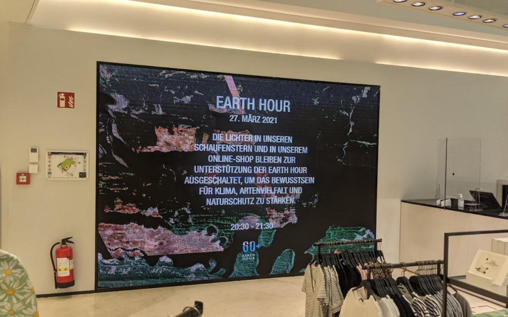 Earth Day bei Zara in Zürich (Foto: invidis)