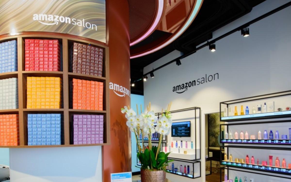Amazon Salon in London (Foto: Amazon UK)