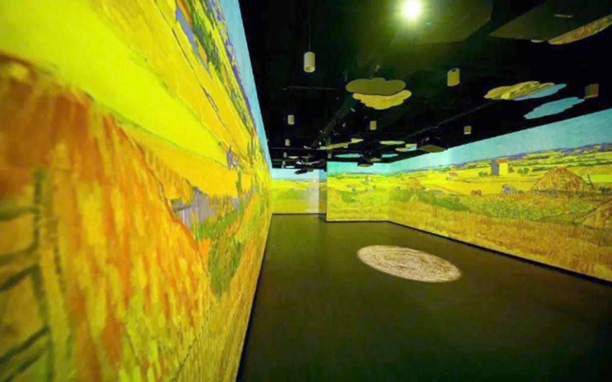 """In der """"Journey of Light and Shadow"""" sollen Besucher in berühmte Gemälde immersiv eintauchen können (Foto: Christie)"""