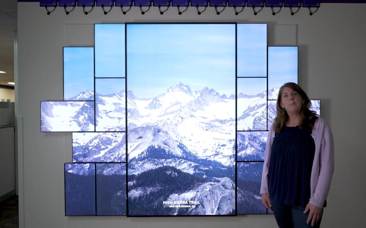 YouTube statt Messe – BrightSign zeigt seine Lösungen in einer virtuellen Tour durch seinen Showroom (Foto: Screenshot)
