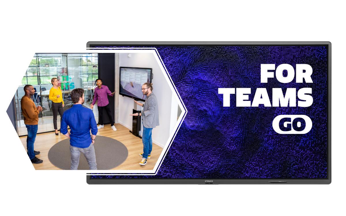 CTouch bringt mit For Teams Go eine plattformübergreifende Lösung für Touchscreens auf den Markt (Foto: CTouch)