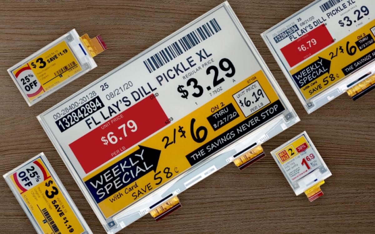 E Ink kündigt die neue Generation der vierfarbigen Spectra 3100 für ESL und Retail Signage an (Foto: E Ink)