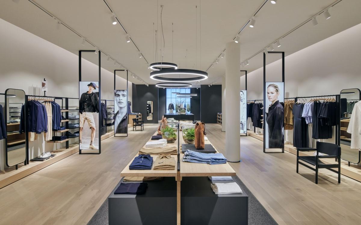 Neues Marc O'Polo Store Konzept mit Digital Signage (Foto: Marc O'Polo)