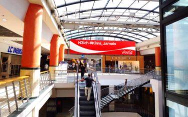 DooH von Pikasso in der Bab Ezzouar Mall in Algier (Foto: Pikasso)