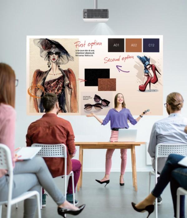 Die ProBeam-Modelle von LG bieten noch mehr Leistung für Büro und Schule (Foto: LG)