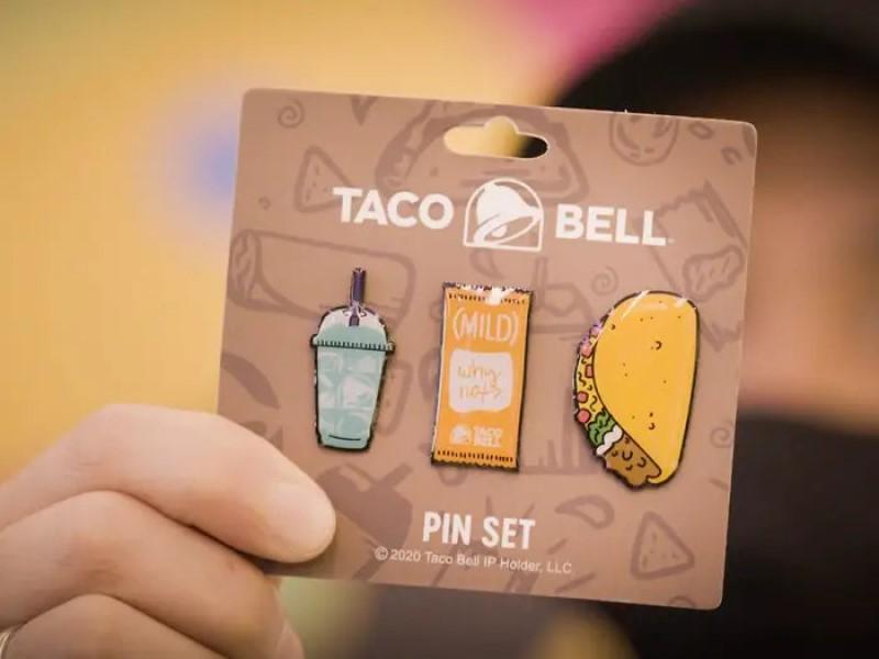 Neben Speisen gibt es auch Merch im neuen Taco Bell am Times Square (Foto: Taco Bell)
