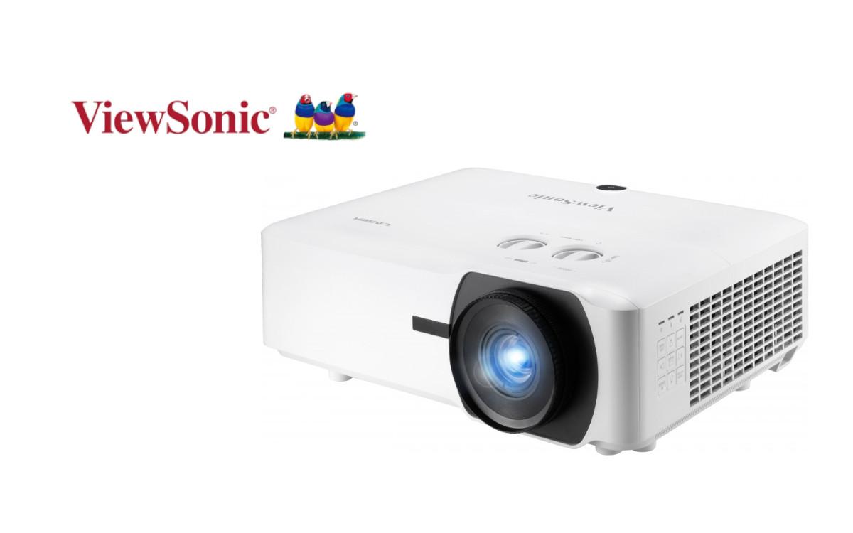 Die beiden neuen Laser-Phosphor-Projektoren von ViewSonic sind gezielt für den Installations- und Dauerbetrieb entwickelt (Foto: ViewSonic)