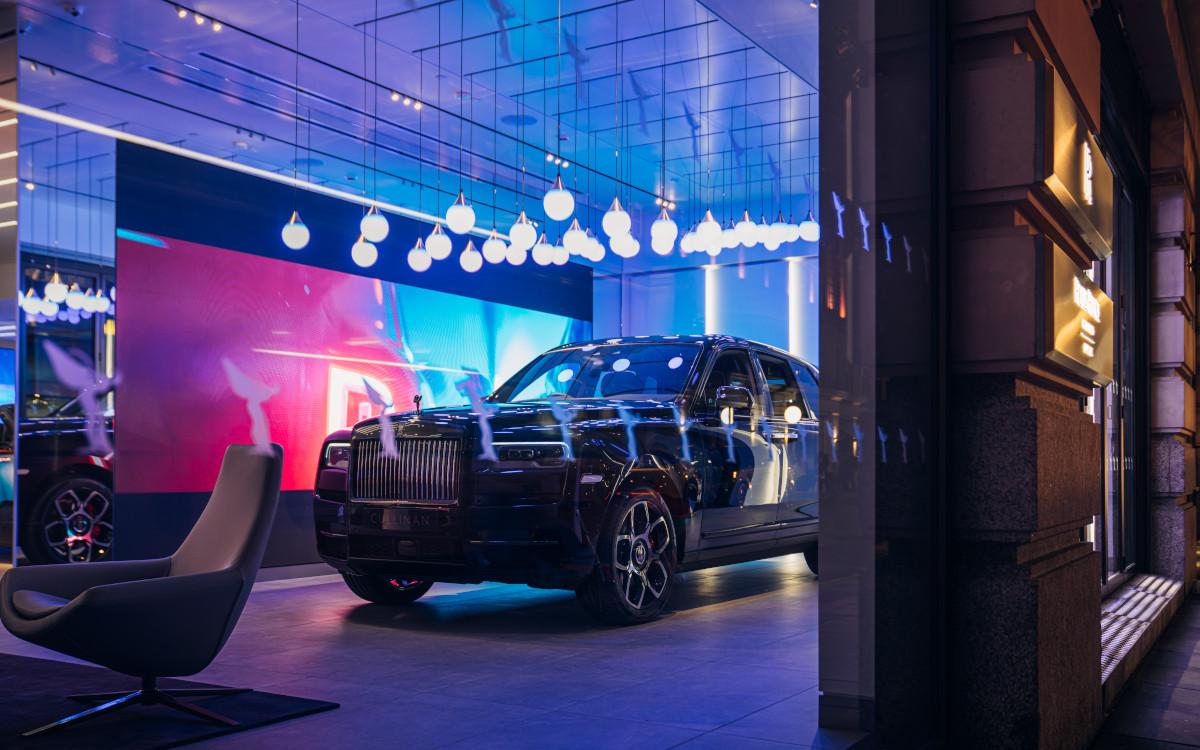 Neuer Rolls-Royce Showroom in London (Foto: Rolls-Royce)