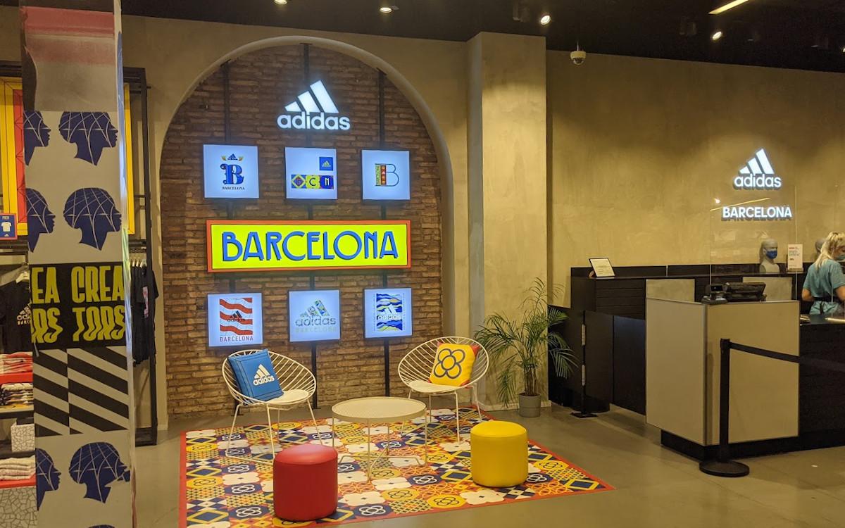 Adidas Flagship in Barcelona (Foto: invidis)
