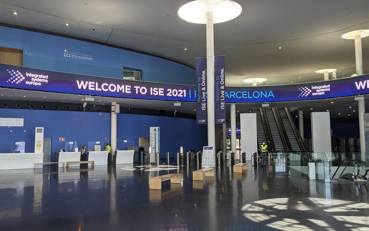 Eingangsbereich der ISE 2021 (Foto: invidis)