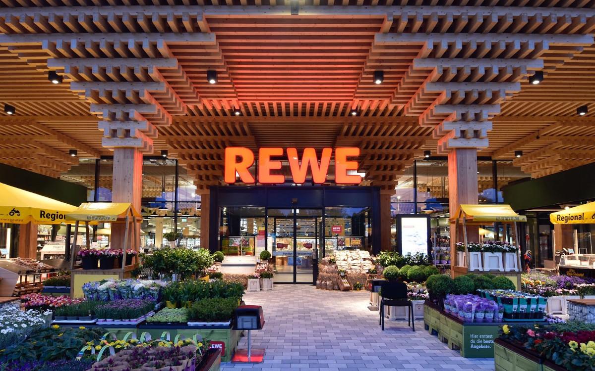 Rewe Green Farming Supermarkt in Wiesbaden (Foto: Rewe)
