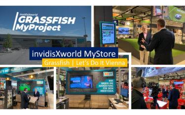 iXw MyStore mit Grassfish bei Let's Do It (Foto: invidis)