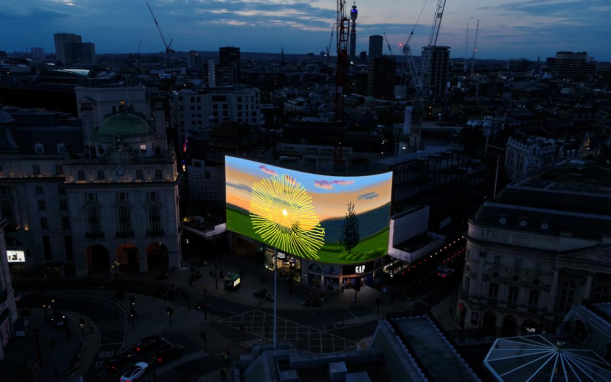 David Hockney in London (Foto: CIRCA)