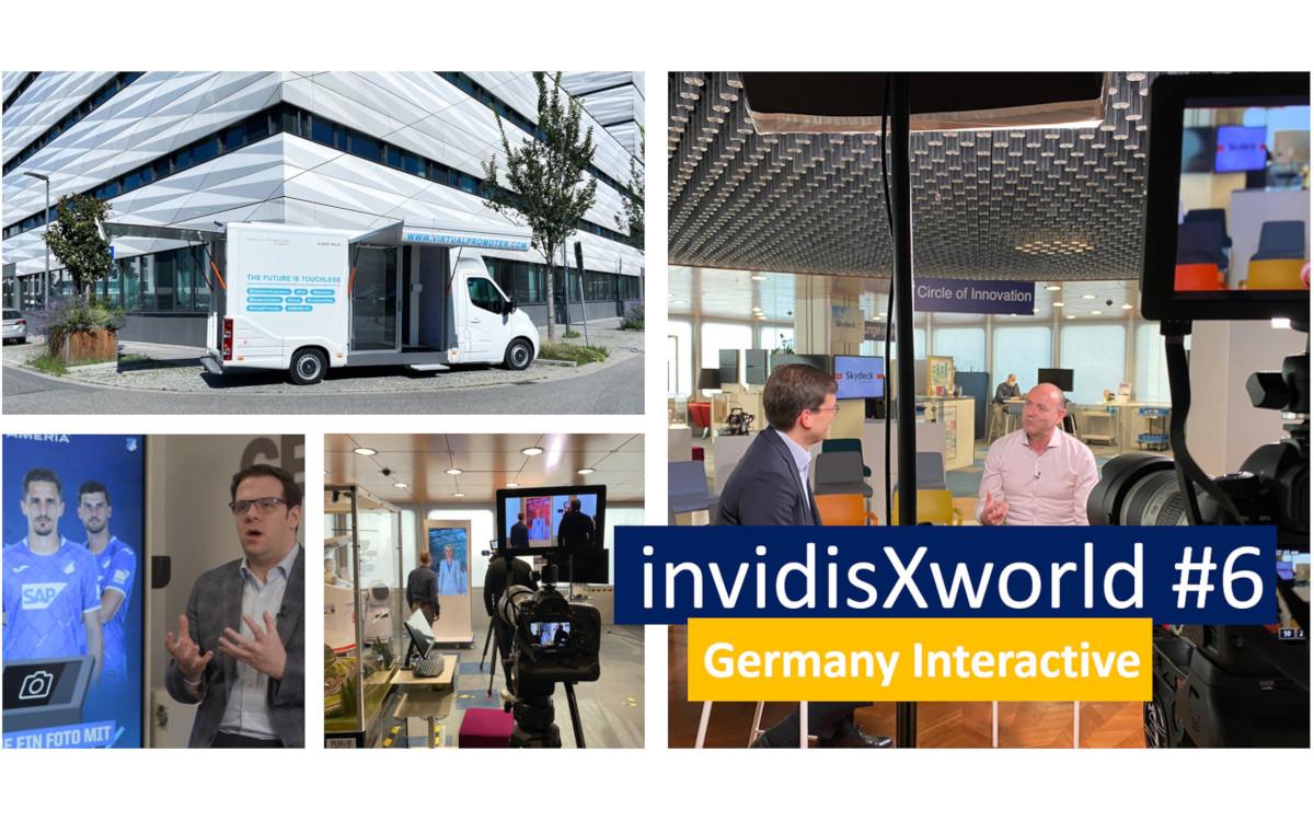 Digital Signage Interaktiv - invidisXworld über Lego, Deutsche Bahn und SAP (Foto: invidis)