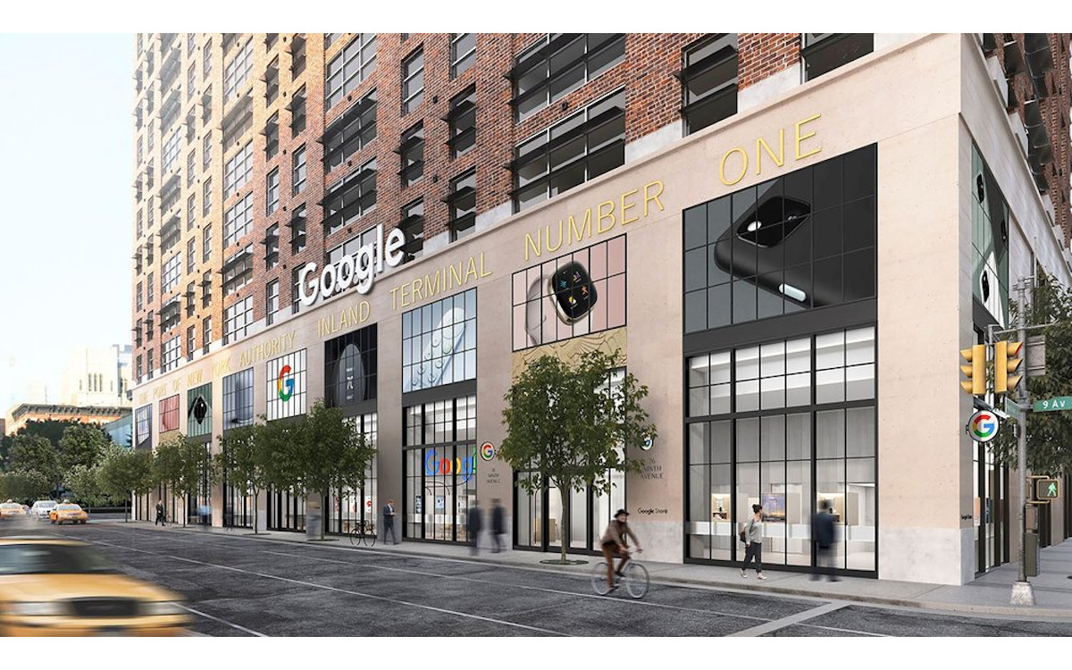 Google eröffnet ersten Flagshipstore in New York City (Foto: Google)