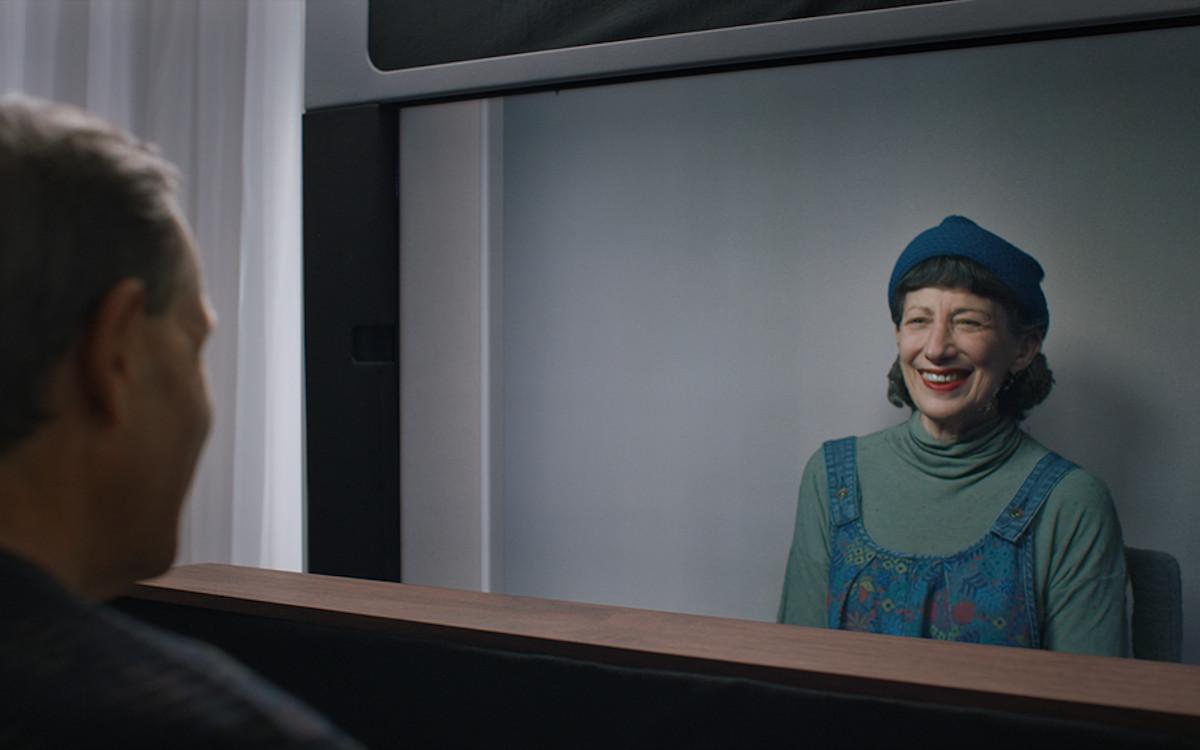 Videokonferenz mit WoW - Project Starline von Google (Foto: Google)