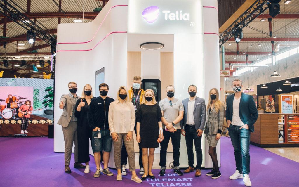 Erster Self-Service Mini Stpre von Telia in Estland (Foto: Cleveron)
