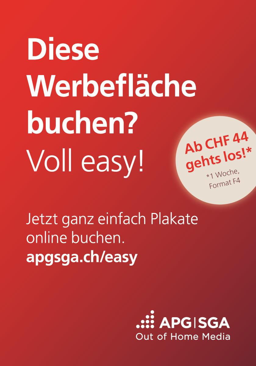Out-of-Home Kampagne für neue Buchungsplattform (Foto: APG)