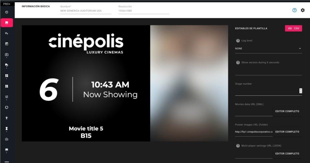 Einblicke ins nsign.tv System für Kinokette Cinépolis (Foto: nsign.tv)