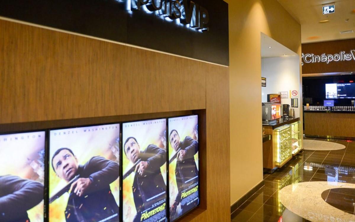 Die mexikanische Kinokette Cinépolis setzt künftig auf nsign.tv um seine Digital Signage zu bespielen (Foto: Cinépolis/nsign.tv)
