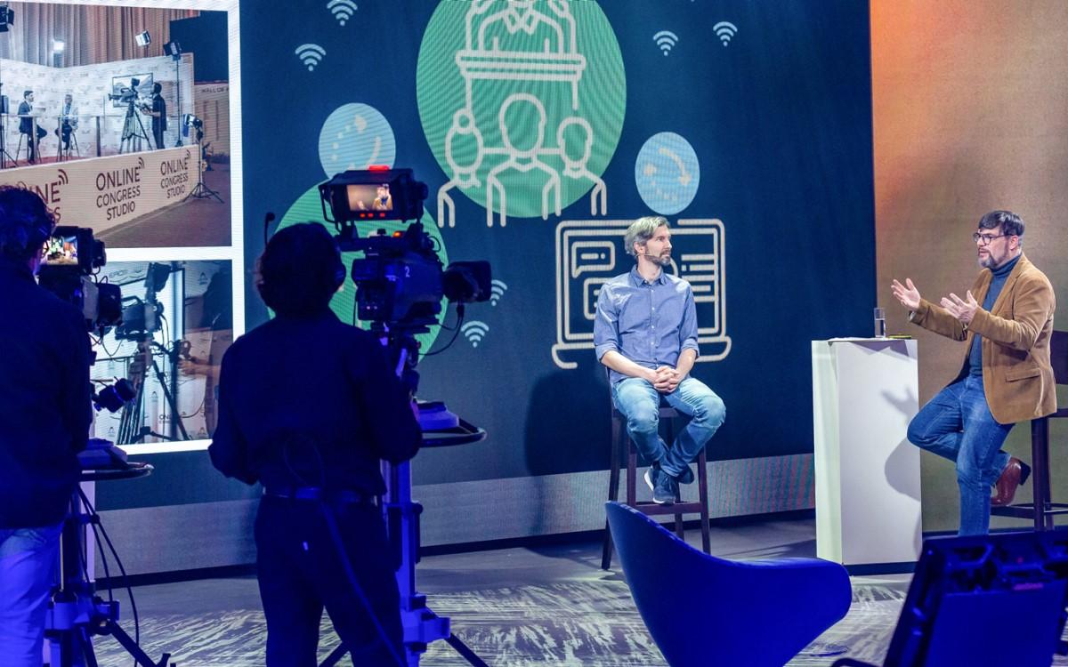 Interaktionmit dem Publikum ist ein wichtiger Erfolgsfaktor für digitale, hybride und physische Events – Habegger gibt Tipps, wie das gelingt (Foto: Habegger AG)