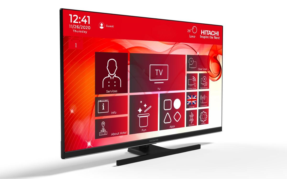Die neuen IPTV-Hospitality-Displays von Hitachi sind in zahlreichen Größen und Ausführungen verfügbar (Foto: Hitachi)