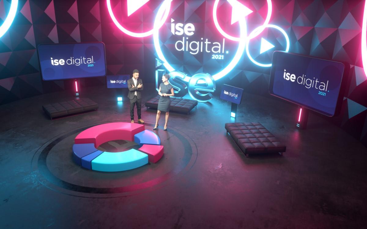 Das virtuelle ISE Digital Studio (Foto: ISE)