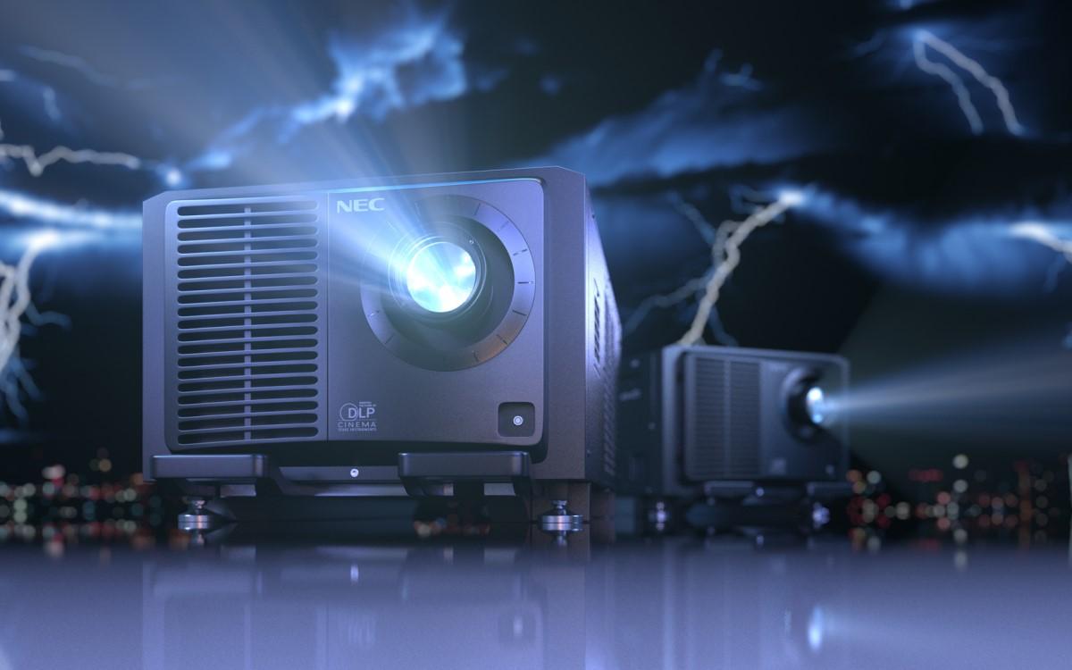 Sharp/NEC erweitert sein Portfolio an Kinoprojektoren mit dem neuem NEC NC2443ML (Foto: Sharp/NEC)