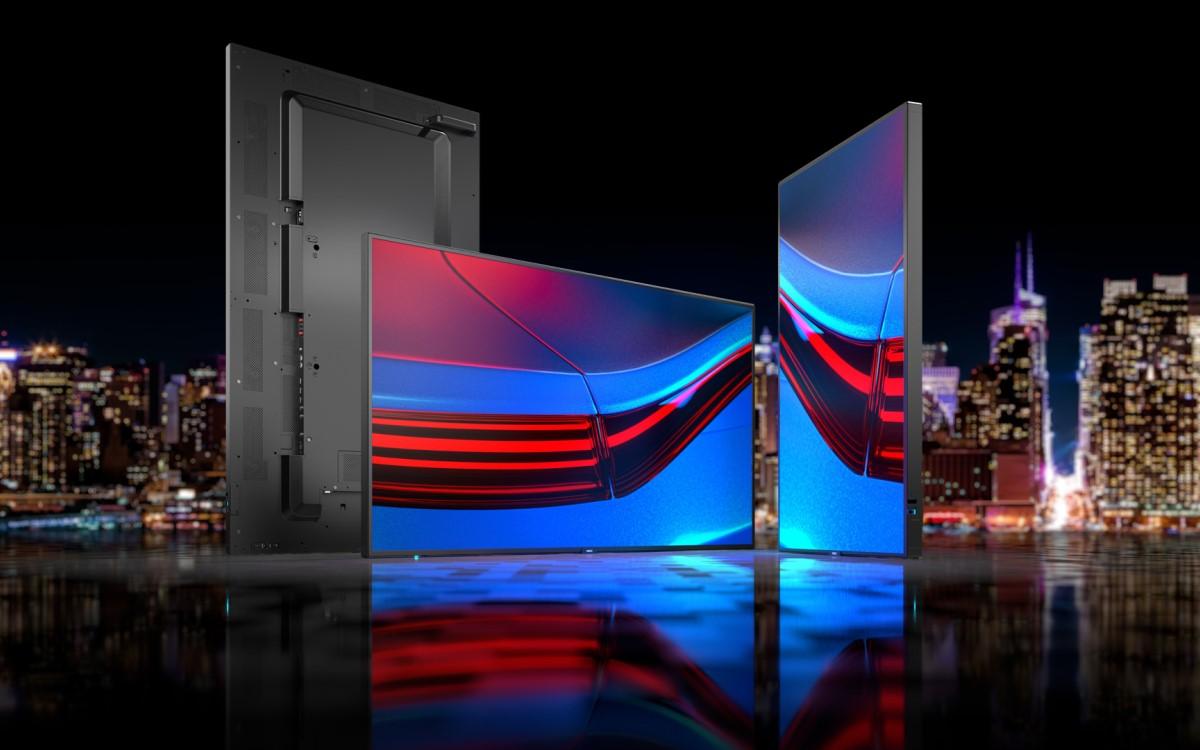 Sharp/NECs P-Serie setzt auf Langlebigkeit und eignet sich etwa für Wayfinding, Kontrollräume oder den Einsatz in Fertigungsanlagen (Foto: Sharp/NEC)