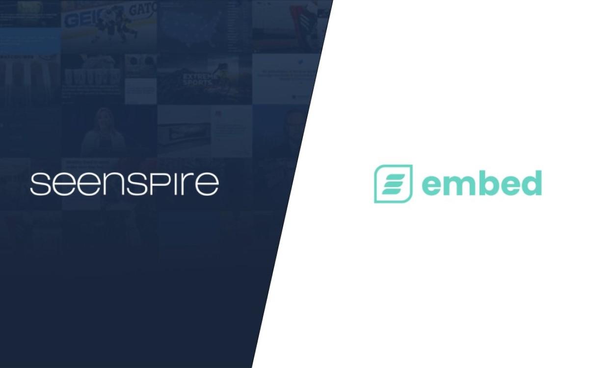 Embed Signage unterstützt künftig Content-Streaming via Seenspire (Foto: Embed Signage/Screenspire)