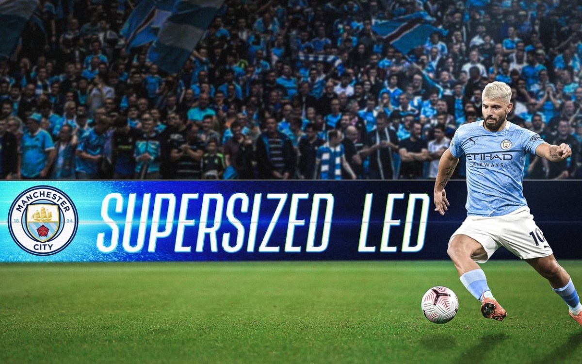 Unilumin Sports wird offizieller LED-Partner von Fußballclub Manchester City (Foto: Unilumin)