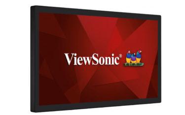 Dank Open Frame-Design eignet sich das TD3207 von ViewSonic ideal für Touch-Anwendungen in Industrie, Handel und den Bildungsbereich (Foto: ViewSonic)