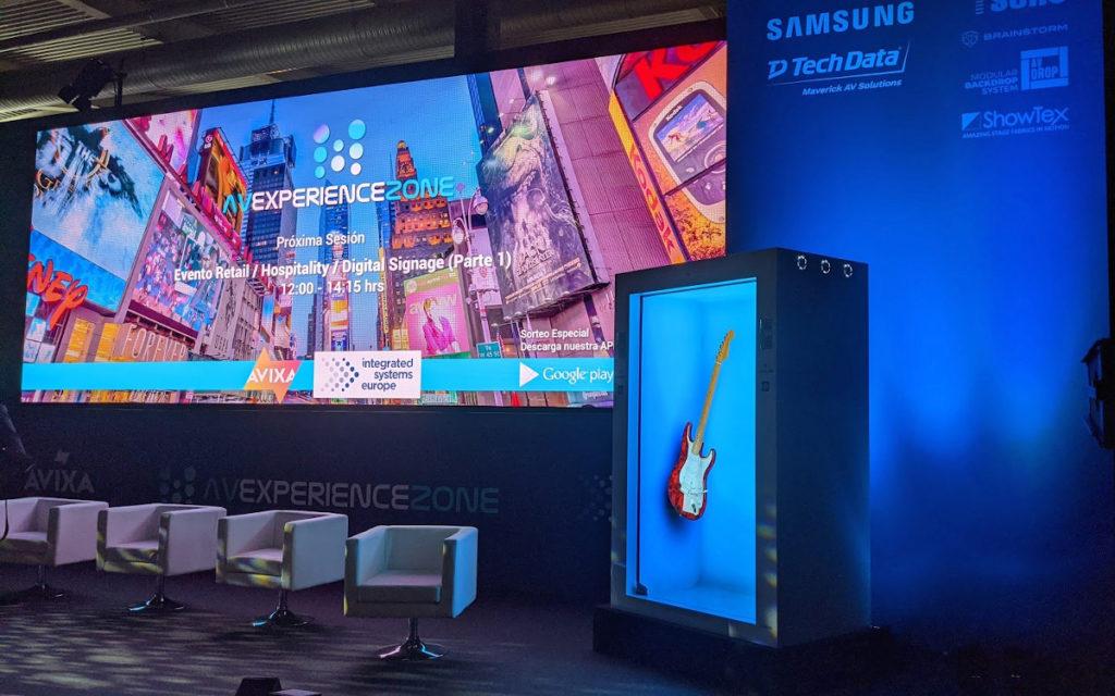 AVIXA Experience Zone mit spanischem Konferenzprogramm (Foto: invidis)