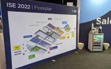 Hallenplan der ISE 2022 (Foto: invidis)