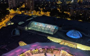 LED in Diagonal Mar am Abend (Foto: invidis)