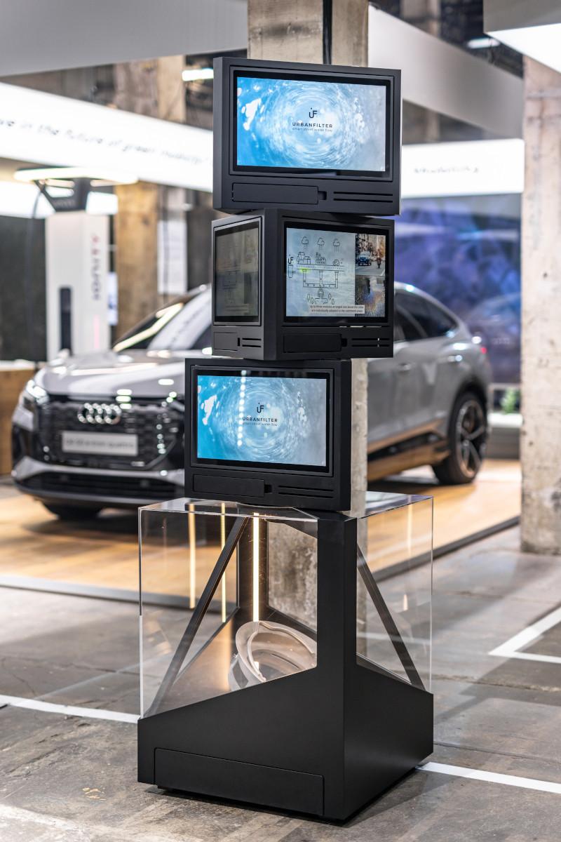 Audi auf dem Greentech Festival 2021 (Foto: Audi)