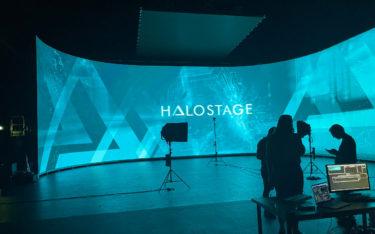 Die erste LED-Bühne steht in Babelsberg (Foto: ICT)