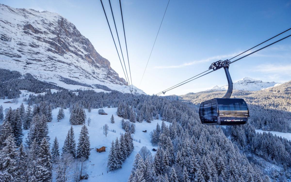 Neue V-Bahn aufs Jungfraujoch (Foto: Jungfraujoch)