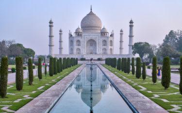 Die Ikone Indiens - Taj Mahal (Foto: Julian Yu / Unsplash)